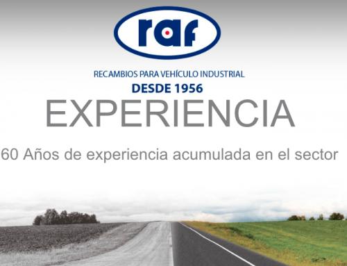 BG Products nuevo proveedor de Recambios Raf