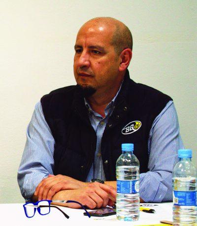 Enrique Mateos, Gerente de BG Products