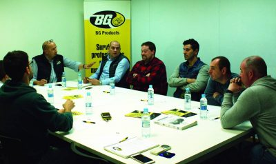 Mesa redonda BG Products