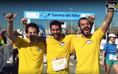 Más de 80 entusiasmados corredores de BG Products tiñeron de amarillo la IX Carrera del Taller.