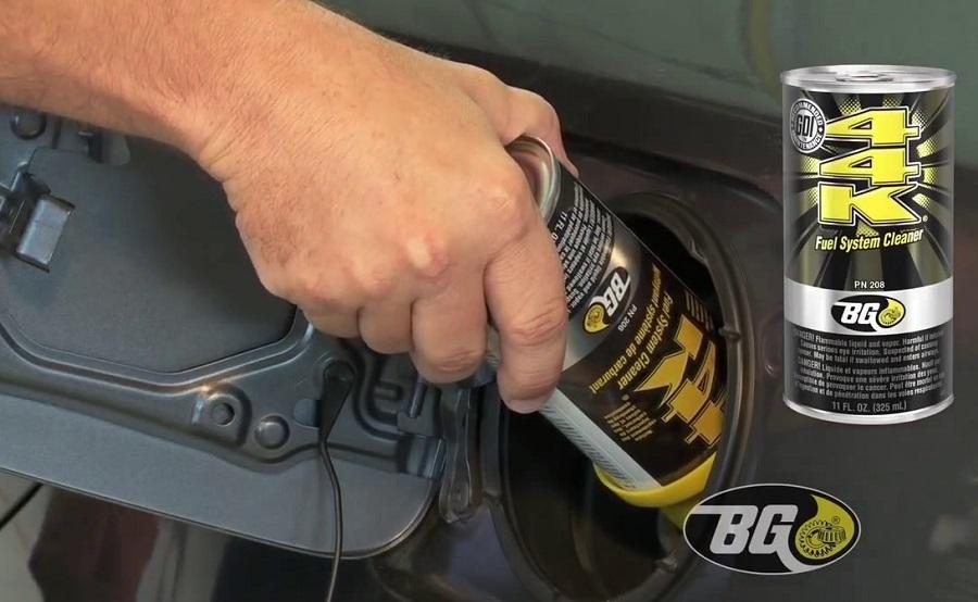 BG 44K, elegido mejor limpiador de inyectores de combustible 2019
