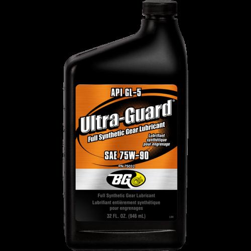 BG ULTRA-GUARD FULL SYNTHETIC GEAR LUBRICANT 75W90