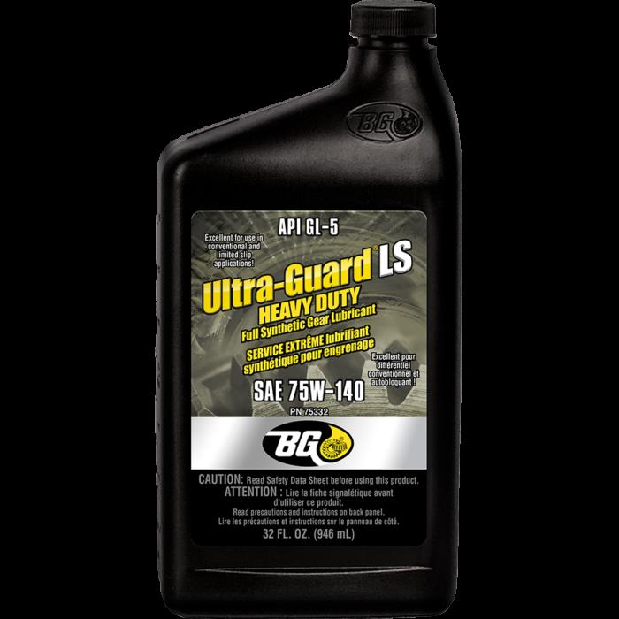 BG ULTRA-GUARD LS HEAVY DUTY 75W140 FULL SYNTHETIC