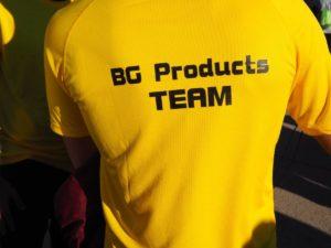 El equipo de BG Products fue el más numeroso entre los más de 50 inscritos en la Carrera..