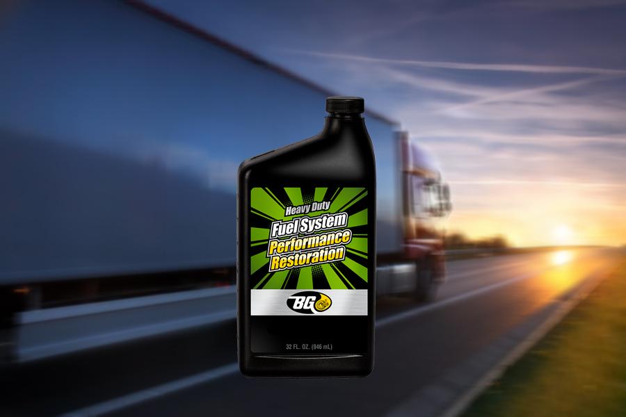 BG Heavy Duty Fuel System Performance Restoration
