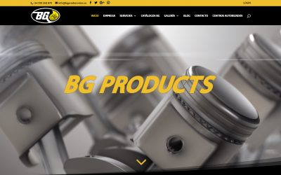 BG Products estrena nueva web en España