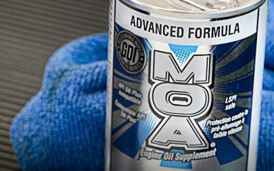 La actualización de BG MOA cumple con las especificaciones de los motores de gasolina más modernos e incluye un mayor ahorro de combustible