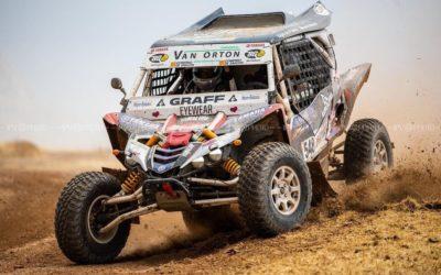 """BG Products participa en el Dakar 2021 con el """"side by side"""" de Yago de Prado y Álvaro Moya, y el buggy de Manuel y Mónica Plaza"""