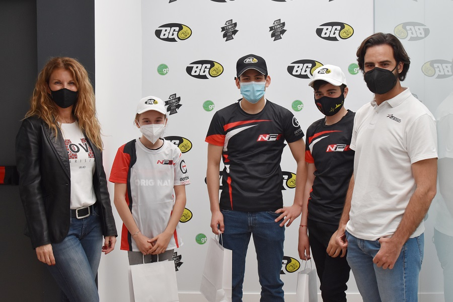 BG Products recibe a los jóvenes pilotos del programa School Team de Racing Talents
